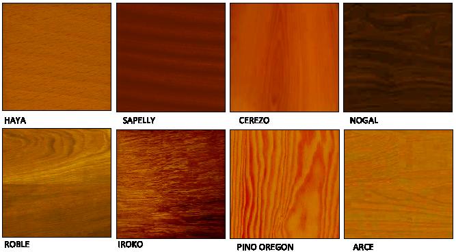 Guillen carpinteria de madera modelos - Tipos de barnices para madera ...