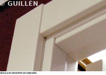 Guillen carpinteria de madera puertas for Puertas uniarte lacadas