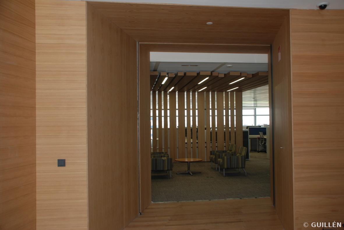 Guillen carpinteria de madera sede repsol madrid - Carpinterias de madera en madrid ...