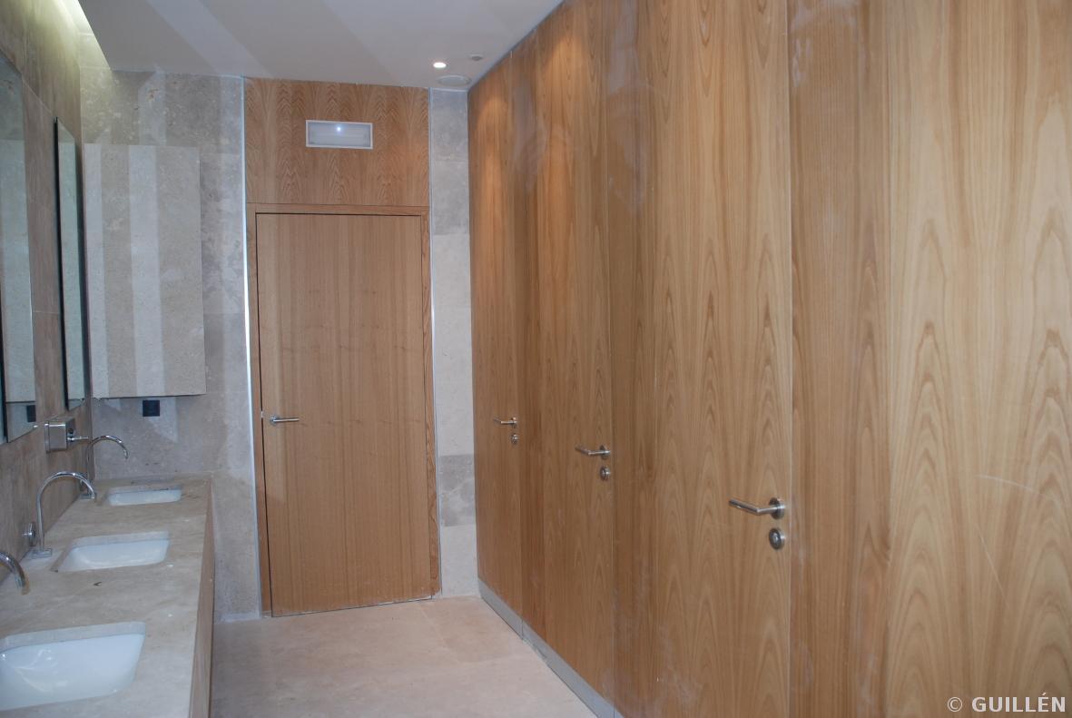 Guillen carpinteria de madera sede repsol madrid - Carpinteria de madera madrid ...