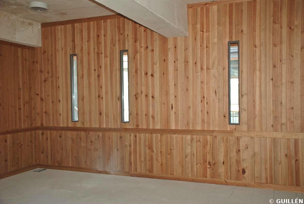 Guillen carpinteria de madera empanelados - Empanelados de madera ...